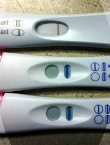 FRER is a stark white BFN. Both of the bottom two have light (but definitely THERE) blue lines.