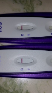 Here they both are together; 1st test taken is on the top (after 10 minute time limit), 2nd test taken on the bottom, about 6 minutes lapsed.