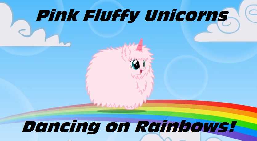 Pink_fluffy_unicorns_dancing_on_rainbows_by_umithemusicalpony-d6cgs1k